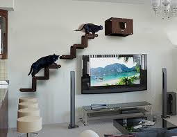 modern cat tower strikingly ideas modern cat tree brilliant design spectacular