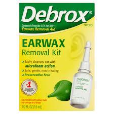 debrox earwax removal kit 0 5 fl oz walmart
