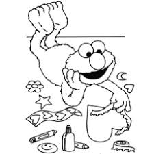 The 10 Sesame Street Coloring Pages