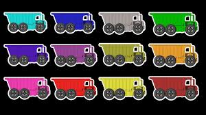 100 Garbage Truck Song GARBAGE TRUCK Colors Street Vehicles For Children Learn Colors