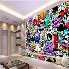 3d fototapete 3d effekt graffiti farbig abstrakt tapete vlies wandbild wohnzimmer hintergrundbilder wanddeko