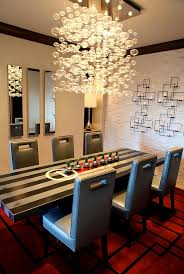 Contemporary Dining Room Chandeliers Dramatic Cascading Unleash Visual Splendor And Pomp
