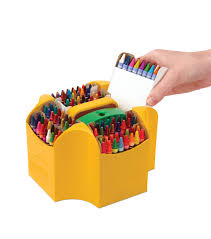 Crayola Bathtub Crayons Refill by Crayola Ultimate Crayon Collection W Sharpener And Caddy 152pc Joann