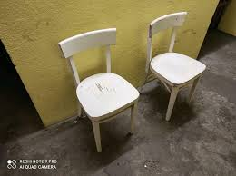 ikea idolf stuhl sessel esszimmer vintage shabby stühle 2