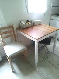 table de cuisine avec chaise encastrable gracieux table avec chaise encastrable design thequaker org