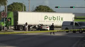 BMW Driver Killed In Crash With Publix Truck - YouTube Publix Truck Driver Saved Crash Victim In Miramar Canal Nbc 6 360 Video Truck Driver Honks Youtube Uncle D Logistics Publix Supermarkets W900 V10 Skin American Car Pinned Under On I295 Jacksonville Wjaxtv Common Vs Contract Carrier Apics Cltd Coach North Port Pulls Man From Sking Car 100_5222jpg How To Drive Semi Best Image Kusaboshicom Abducted Big Rig Carjacked Foo9