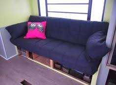 Jackknife Sofas by Rv Renovation Jackknife Couch Before After Ikea Futon Rv And