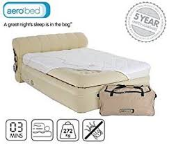 Aerobed Queen With Headboard by Aerobed Platinum Raised Headboard King Airbed Amazon Co Uk