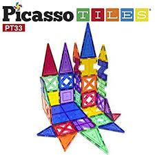 Picasso Magnetic Tiles Vs Magna Tiles by Amazon Com Picassotiles 100 Piece Set 100pcs Magnet Building