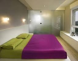 kreatives interiuer design idee für kleines schlafzimmer mit