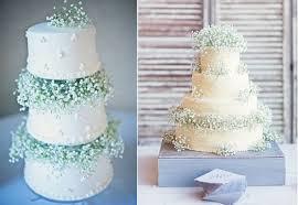 Babys Breath Wedding Cake Via Exquisite Weddings Magazine And By Half Orange Photography Style Me