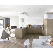 leroy merlin cuisines meuble 40 cm 7 meuble de cuisine taupe delinia leroy