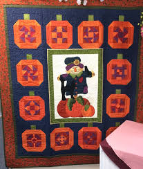 Pumpkin Farms In Bay County Michigan by Guildcrafters Quilt Shop