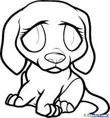 Beagle Puppy Coloring Pages Page Puppies Realistic