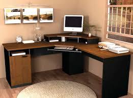 Ameriwood Computer Desk With Shelves by Ameriwood Oak Corner Computer Desk With Hutch Ideas Home