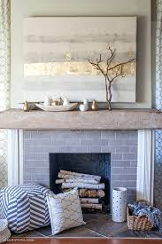 how to style a mantel for autumn wood mantels rustic wood and