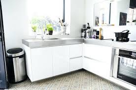 plan de travail cuisine blanc cuisine blanche avec plan de travail bois top les meilleures ides