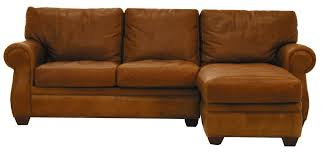 Mor Furniture Sectional Sofas by American Leather Morgan Traditional 2 Piece Sectional Sofa With