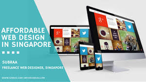 Affordable Web Design in Singapore — Know Subraa your Freelance