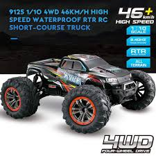 Amazon.com: Hosim Large Size 1:10 Scale High Speed 46km/h 4WD 2.4Ghz ...