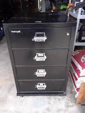 4 drawer fireproof file cabinet ebay