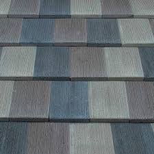 flat roof tile concrete slate look textured pasco