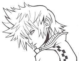 Kingdom Hearts Color Pages