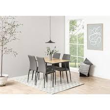 4x esszimmerstuhl des grau stuhl set stühle küchenstuhl polsterstuhl hochlehner