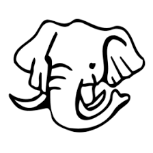 Elephant Face Coloring Page AZ Pages
