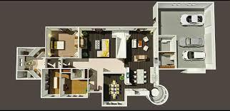 Bedroom Home Design Plans Ground Floor 3d House D Artdreams Best Free Plan Software New