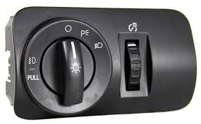 mustang headlight switch with fog lights 05 09 gt v6 sw 6581