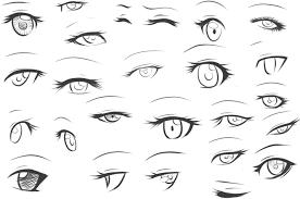 Anime Eyes Art