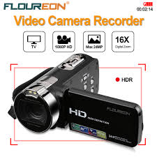 FLOUREON 1080P FULL HD Camcorder Digital Video Camera DV 27 TFT LCD
