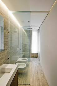 like the overall house itself this bathroom is and thin