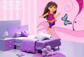 Kids Bedroom Wall Painting For Girls