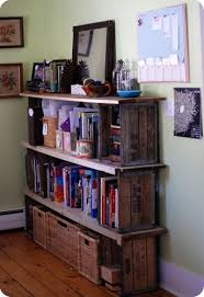 Wood Crate Shelf Diy by 91 Best Crate Fun Images On Pinterest Fruit Box Old Crates And