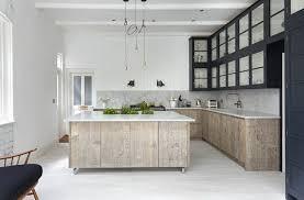 cuisine bois blanchi cuisine bois blanchi en photo