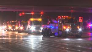 100 Truck Driving Schools Wisconsin Hundreds Of Truck Operators Honor Tow Truck Driver Killed On I41