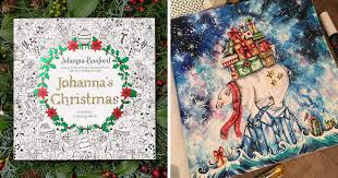 I Spent My Summer Listening To Christmas Tunes Create This Themed Adult Coloring Book