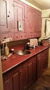 Primitive Decor Kitchen Cabinets by 1613 Best Decor Kitchen Images On Pinterest Blue Blue And