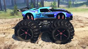100 Ford Monster Truck GT Monster Truck For Spin Tires