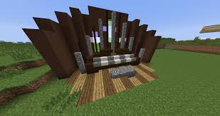 Minecraft Pe Room Decor Ideas by Minecraft Furniture Entertainment