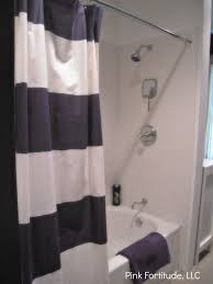 Cynthia Rowley White Window Curtains by Navy Blue And White Shower Curtains Home Design Ideas