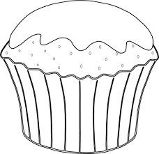 to see printable version of Muffin Coloring page