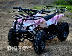 100 Pink Camo Trucks Battery Powered Kids ATV