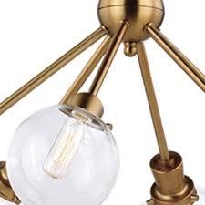 patriot lighting皰 atom 6 light chandelier at menards皰