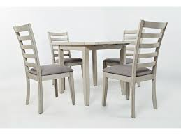 Bay Lake Drop Leaf Table And 4 Chair Set