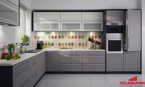 küchenzeile küche l form 240x370cm lava vanille beige neu