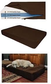 best rated dog beds for large dogs for extra comfort and support