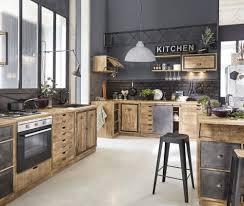 küchenunterschrank für backofen aus massivem mangoholz maisons du monde
